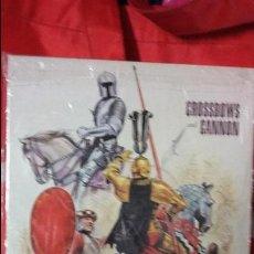 Juegos Antiguos: WARGAME CROSSBOWS AND CANNONS, DE 3W. Lote 50232999