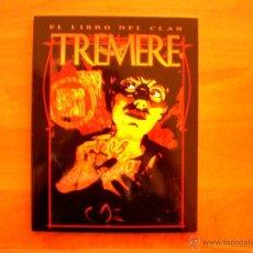 Juegos Antiguos: LIBRO DEL CLAN TREMERE REVISADO (VAMPIRO MASCARADA). Lote 50266152