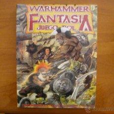 Juegos Antiguos: WARHAMMER FANTASÍA - JUEGO DE ROL - LIBRO BÁSICO - LA FACTORÍA DE IDEAS. Lote 90080044