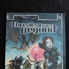 Juegos Antiguos: STAR DRIVE ACCESSORY - THREATS FROM BEYOND - INGLÉS - ROL. Lote 50462129