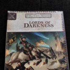 Juegos Antiguos: FORGOTTEN REALMS - LORDS OF DARKNESS - DUNGEONS & DRAGONS CAMPAIGN ACCESSORY - INGLES - ROL. Lote 50677548