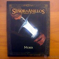 Juegos Antiguos: MORIA. SUPLEMENTO PARA EL JUEGO DE ROL EL SEÑOR DE LOS ANILLOS. CODA. LA FACTORÍA DE IDEAS. Lote 50782216