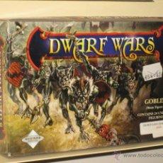 Juegos Antiguos: DWARF WARS GOBLINS 24 MINIATURAS SIN PINTAR METAL 28 MM OFERTA (ANTES 54,30 €). Lote 177982150