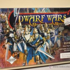 Juegos Antiguos: DWARF WARS ELVES ELFOS 24 MINIATURAS SIN PINTAR METAL 28 MM OFERTA (ANTES 54,30 €). Lote 178180086