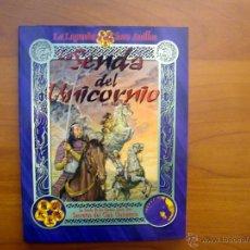 Juegos Antiguos: LA SENDA DEL UNICORNIO. SUPLEMENTO PARA EL JUEGO DE ROL LA LEYENDA DE LOS CINCO ANILLOS (L5A). NUEVO. Lote 50864889