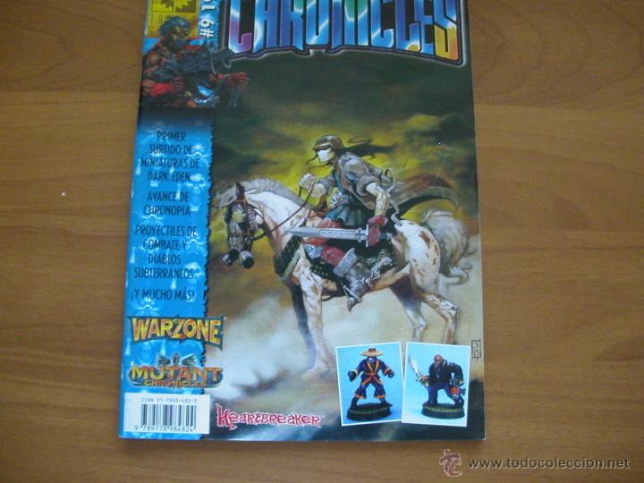 Juegos Antiguos: Chronicles 9. Revista. Mutant Chronicles. M+D - Target Games. - Foto 1 - 50973370