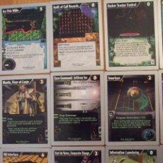 Juegos Antiguos: LOTE DE 15 CARTAS - NET RUNNER - INGLES - V 1.0 AÑO 1996 - WIZARDS OF THE COAST. Lote 50975801