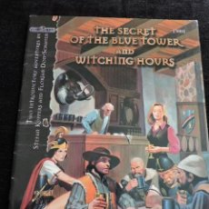 Juegos Antiguos: THE DARK EYE - THE SECRET OF THE BLUE TOWER AND WITCHING HOURS - INGLES - FANPRO - 15001 - ROL. Lote 50985692