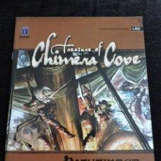 Juegos Antiguos: PATHFINDER MODULE - TREASURE OF CHIMERA COVE - LB2 - INGLES - ROL. Lote 50985992