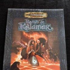 Juegos Antiguos: DUNGEONS & DRAGONS - REINOS DE KALAMAR - TERROR DE MEDIANOCHE - ESPAÑOL - ROL. Lote 50986261