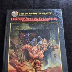Juegos Antiguos: ADVANCED DUNGEONS & DRAGONS - GUÍA DEL DUNGEON MASTER - ESPAÑOL - ROL. Lote 50986450