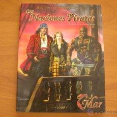 Juegos Antiguos: NACIONES PIRATAS. NACIONES DE THEAH. 7º MAR. JUEGO DE ROL. LA FACTORÍA DE IDEAS. Lote 51009549