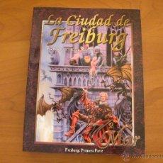 Juegos Antiguos: LA CIUDAD DE FREIBURG. 7º MAR. LA FACTORIA DE IDEAS. Lote 140064500