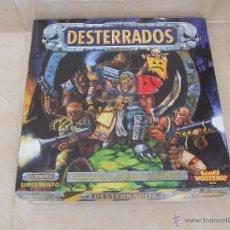Juegos Antiguos: NECROMUNDA: EXPANSION DESTERRADOS COMPLETO Y SIN DESTROQUELAR DE GAMES WORKSHOP. Lote 51128316