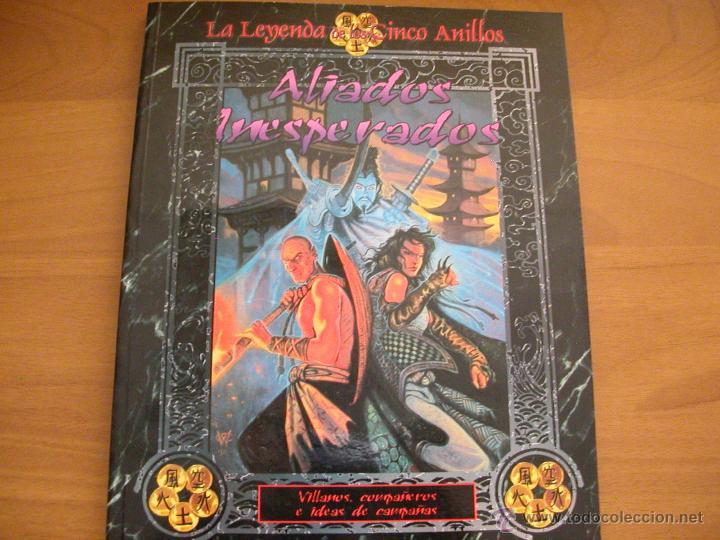 ALIADOS INESPERADOS - PARA LA LEYENDA DE LOS CINCO ANILLOS - L5A- JUEGO DE ROL - LA FACTORÍA. NUEVO (Juguetes - Rol y Estrategia - Juegos de Rol)