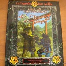 Juegos Antiguos: GUIA DE LA SUPERVIVENCIA- PARA LA LEYENDA DE LOS CINCO ANILLOS -L5A-JUEGO DE ROL-LA FACTORÍA. NUEVO. Lote 51194557