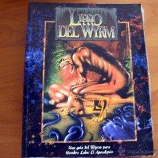 Juegos Antiguos: LIBRO DEL WYRM. HOMBRE LOBO EL APOCALIPSIS. JUEGO DE ROL. NUEVO. LA FACTORÍA DE IDEAS.. Lote 131349714