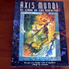 Juegos Antiguos: AXIS MUNDI. HOMBRE LOBO EL APOCALIPSIS. JUEGO DE ROL. NUEVO. LA FACTORÍA DE IDEAS.. Lote 51253094