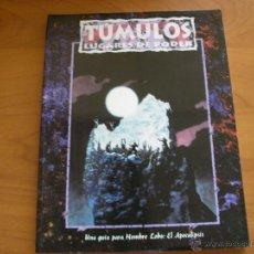 Juegos Antiguos: TÚMULOS. HOMBRE LOBO EL APOCALIPSIS. JUEGO DE ROL. NUEVO. LA FACTORÍA DE IDEAS.. Lote 51253392