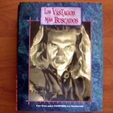 Juegos Antiguos: LOS VÁSTAGOS MÁS BUSCADOS. VAMPIRO LA MASCARADA. JUEGO DE ROL. NUEVO. LA FACTORÍA DE IDEAS.. Lote 269168198