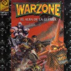 Juegos Antiguos: WARZONE - EL ALBA DE LA GUERRA VOLUMEN I - TARGET GAMES. Lote 51342343