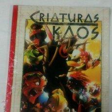 Juegos Antiguos: CRIATURAS DEL KAOS SUPLEMENTO DE ROL PARA EXALTADO DE LA FACTORIA DE IDEAS. Lote 146546393