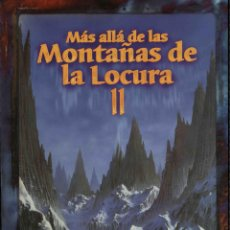 Juegos Antiguos: MÁS ALLÁ DE LAS MONTAÑAS DE LA LOCURA II (2). LA LLAMADA DE CTHULHU. JUEGO DE ROL. NUEVO.. Lote 269389983