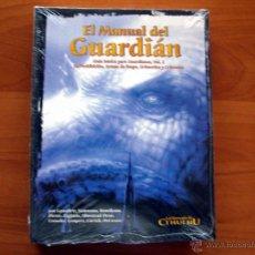 Juegos Antiguos: MANUAL DEL GUARDIAN. VOL. 2. LA LLAMADA DE CTHULHU. JUEGO DE ROL. LA FACTORÍA DEE IDEAS. NUEVO. Lote 51501723