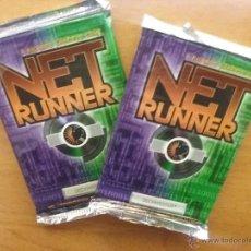 Juegos Antiguos: NETRUNNER V 1.0. DOS SOBRES DEL SET BÁSICO. NUEVO. WOTC.. Lote 266886564