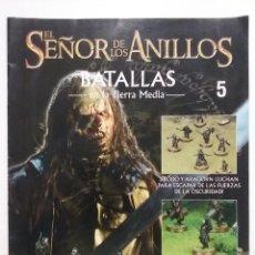 Juegos Antiguos: EL SEÑOR DE LOS ANILLOS. BATALLAS EN LA TIERRA MEDIA. FASCICULO Nº 5. PLANETA - GAMES WORKSHOP. Lote 51727167