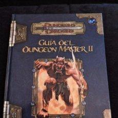 Juegos Antiguos: DUNGEONS & DRAGONS - GUÍA DEL DUNGEON MASTER II - ESPAÑOL - ROL. Lote 52008288