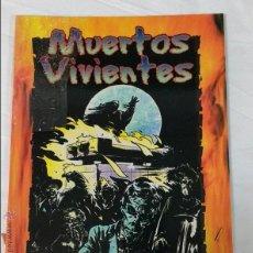 Juegos Antiguos: MUERTOS VIVIENTES SUPLEMENTO DE ROL PARA CAZADOR LA VENGANZA DE LA FACTORIA DE IDEAS. Lote 254432380