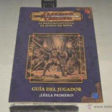 Juegos Antiguos: JUEGO DE MESA DUNGEONS & DRAGONS DE PARKER DEL 2003 GUIA DEL JUGADOR ROL PM. Lote 52160302