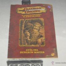 Juegos Antiguos: JUEGO DE MESA DUNGEONS & DRAGONS DE PARKER DEL 2003 GUIA DEL DUNGEON MASTER PM. Lote 52160340