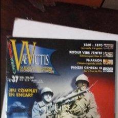 Juegos Antiguos: VAE VICTIS Nº 37 WARGAME FRANCE 1940. Lote 52343959