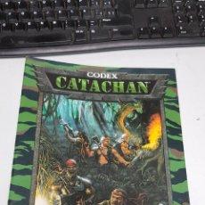 Juegos Antiguos: CODEX : CATACHAN - SUPLEMENTO GUARDIA IMPERIAL - WARHAMMER 40.000 / GAMES WORKSHOP. Lote 151710868