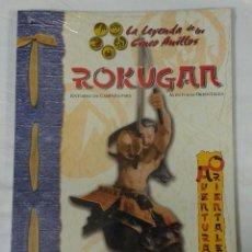 Juegos Antiguos: ROKUGAN SUPLEMENTO DE ROL DE LA LEYENDA DE LOS CINCO ANILLOS DE LA FACTORIA DE IDEAS. Lote 56948306