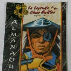 Juegos Antiguos: ALMANAQUE SUPLEMENTO DE ROL DE LA LEYENDA DE LOS CINCO ANILLOS DE LA FACTORÍA DE IDEAS . Lote 52778968