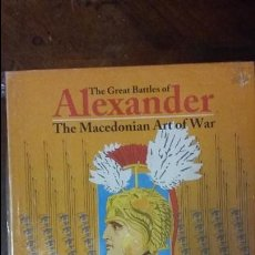 Juegos Antiguos: WARGAME THE GREAT BATTLES OF ALEXANDER, DE GMT. Lote 52960518