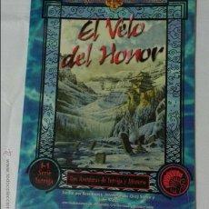 Juegos Antiguos: EL VELO DEL HONOR SUPLEMENTO DE ROL PARA LA LEYENDA DE LOS CINCO ANILLOS DE LA FACTORIA DE IDEAS. Lote 168627074