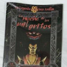 Juegos Antiguos: LA NOCHE DE LOS MIL GRITOS SUPLEMENTO DE ROL DE LA LEYENDA DE LOS CINCO ANILLOS DE LA FACTORIA. Lote 238714960