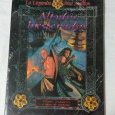 Juegos Antiguos: ALIADOS INESPERADOS SUPLEMENTO DE ROL PARA LA LEYENDA DE CINCO ANILLOS DE LA FACTORIA DE IDEAS. Lote 168832432