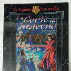 Juegos Antiguos: LA CORTE DE INVIERNO KYUDEN KAKITA SUPLEMENTO DE ROL PARA LA LEYENDA DE LOS CINCO ANILLOS, FACTORIA. Lote 205729947