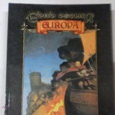 Juegos Antiguos: EDAD OSCURA: EUROPA. PARA EDAD OSCURA - JUEGO DE ROL - FACTORIA. Lote 54539055