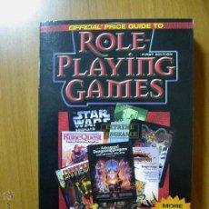 Juegos Antiguos: THE OFFICIAL PRICE GUIDE TO ROLE PLAYING GAMES. JUEGO DE ROL. NUEVO.. Lote 53588977