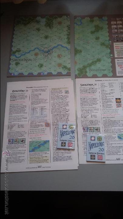 WARGAMES BORODINO 20 Y SMOLENSK 20, DE VICTORY POINT GAMES (Juguetes - Rol y Estrategia - Otros)