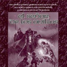 Juegos Antiguos: EL SEÑOR DE LOS ANILLOS (SDLA). POSTER PROMOCIONAL (45X35 CMS APROX). JUEGO DE ROL. LA FACTORÍA.. Lote 180154663