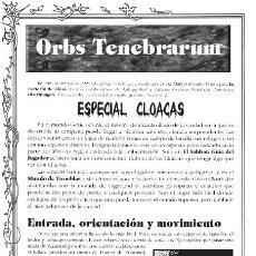 Juegos Antiguos: ORBS TENEBRARUM #2. FANZINE PROMOCIONAL MUY RARO. VAMPIRO LA MASCARADA. JUEGO DE ROL. LA FACTORÍA.. Lote 98245347