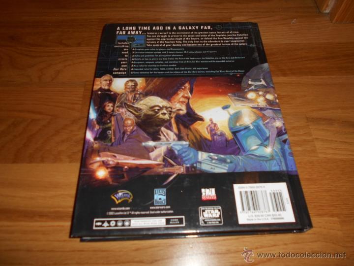 Juegos Antiguos: Star Wars-revised Core Rulebook-Roleplaying Game-suplemento-RPG JUEGO DE ROL MUY RARO - Foto 7 - 54062148