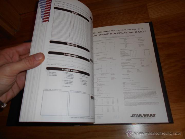 Juegos Antiguos: Star Wars-revised Core Rulebook-Roleplaying Game-suplemento-RPG JUEGO DE ROL MUY RARO - Foto 2 - 54062355